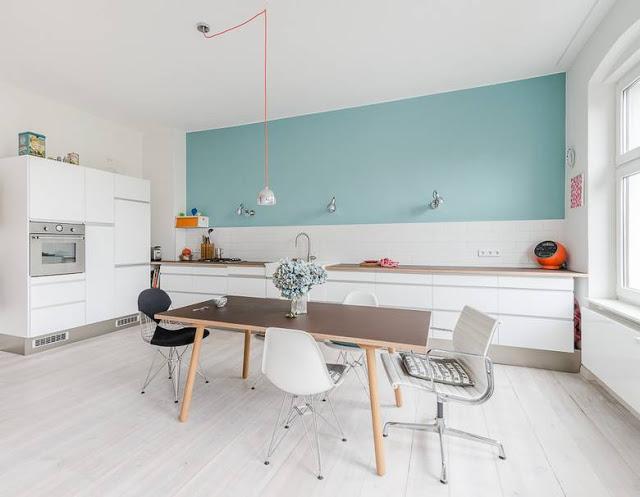 Delightfully bright: an apartment interior