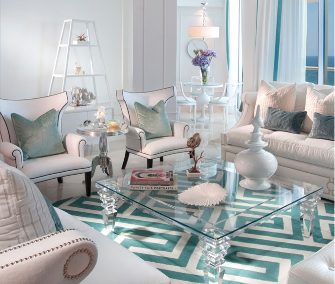 Gorgeous Living Rooms: Hollywood Regency Style: A Gorgeous Interior