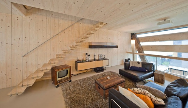 Handsome and unique: an eco home