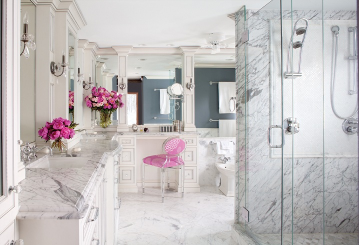 Majestic and luxurious- an awesome bathroom
