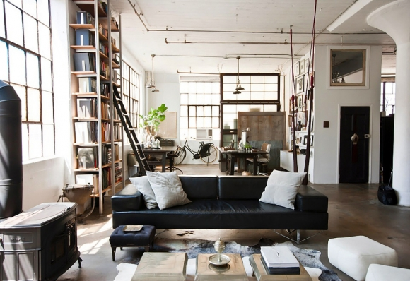 Splendid rustic Brooklyn loft