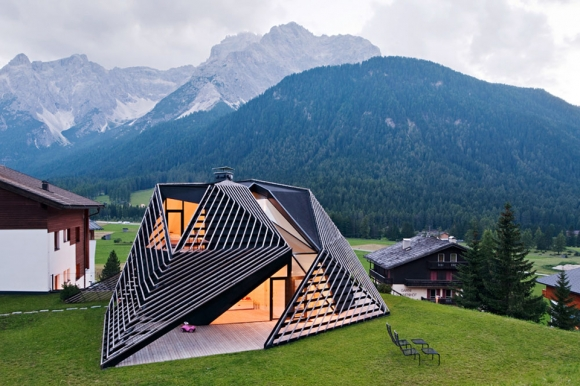 Stunning renovation: hotel turned residence