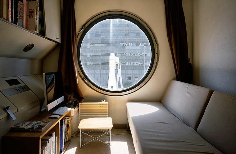 Unique apartment complex in Tokyo