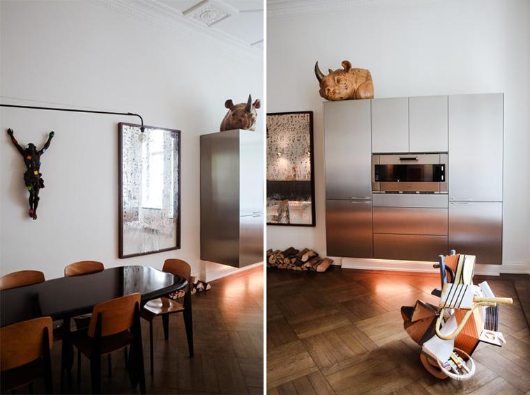 We adore this interesting interior