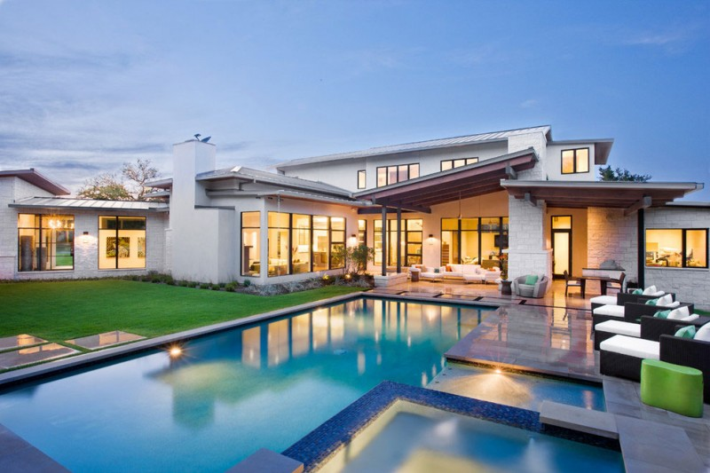 A contemporary awesome house in Austin