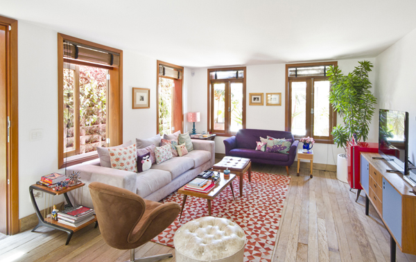 A restored house: transformed into perfection