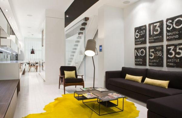 A stunningly chic contemporary apartment