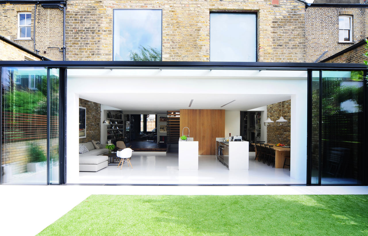 Beautiful and interesting: a renovated home