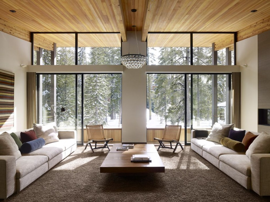 Contemporary residence boasting architectural sweetness and comfort