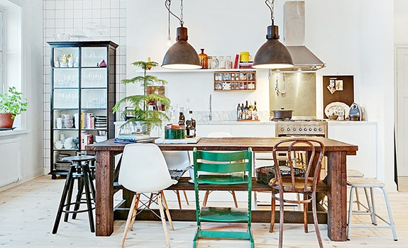 Cute Apartment With an Eclectic Interior Design