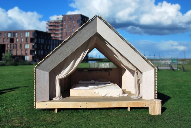 DIY houses by The Cloud Collective