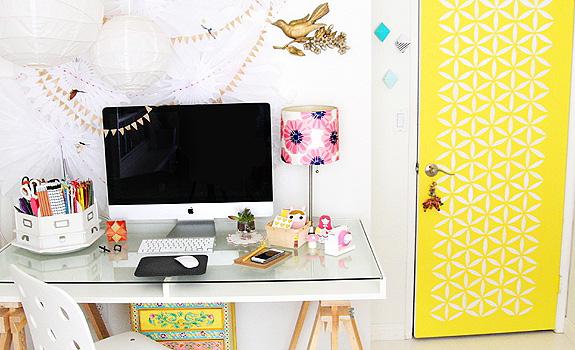 A Fun Home Office Design