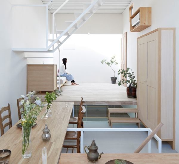 Gorgeous and functional a Japanese house (1)