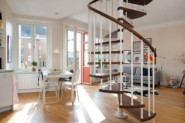 Lovely two-story duplex apartment