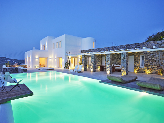Perfect summer getaway at this Mykonos villa