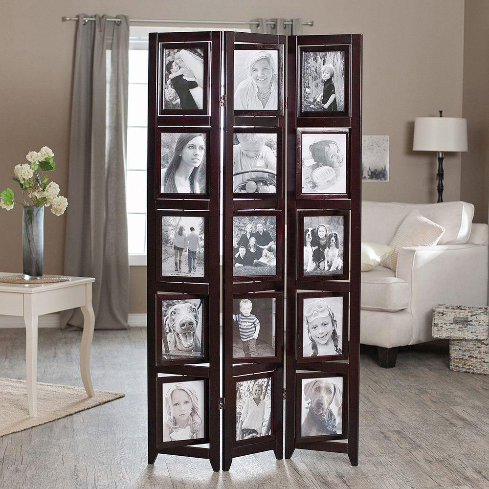 Photo Frame Room Divider