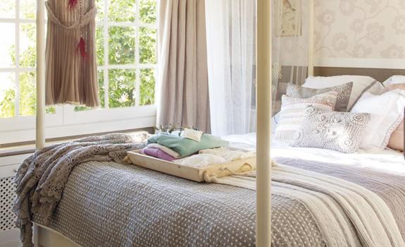 Lovely bedroom interior