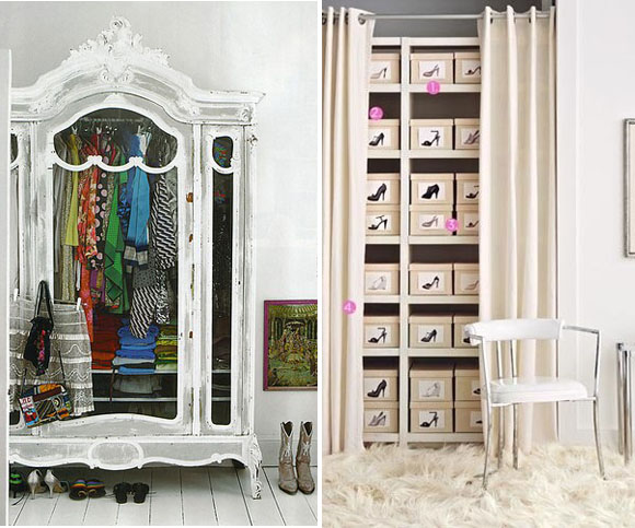 Which one of these walk in closets is your dream closet?