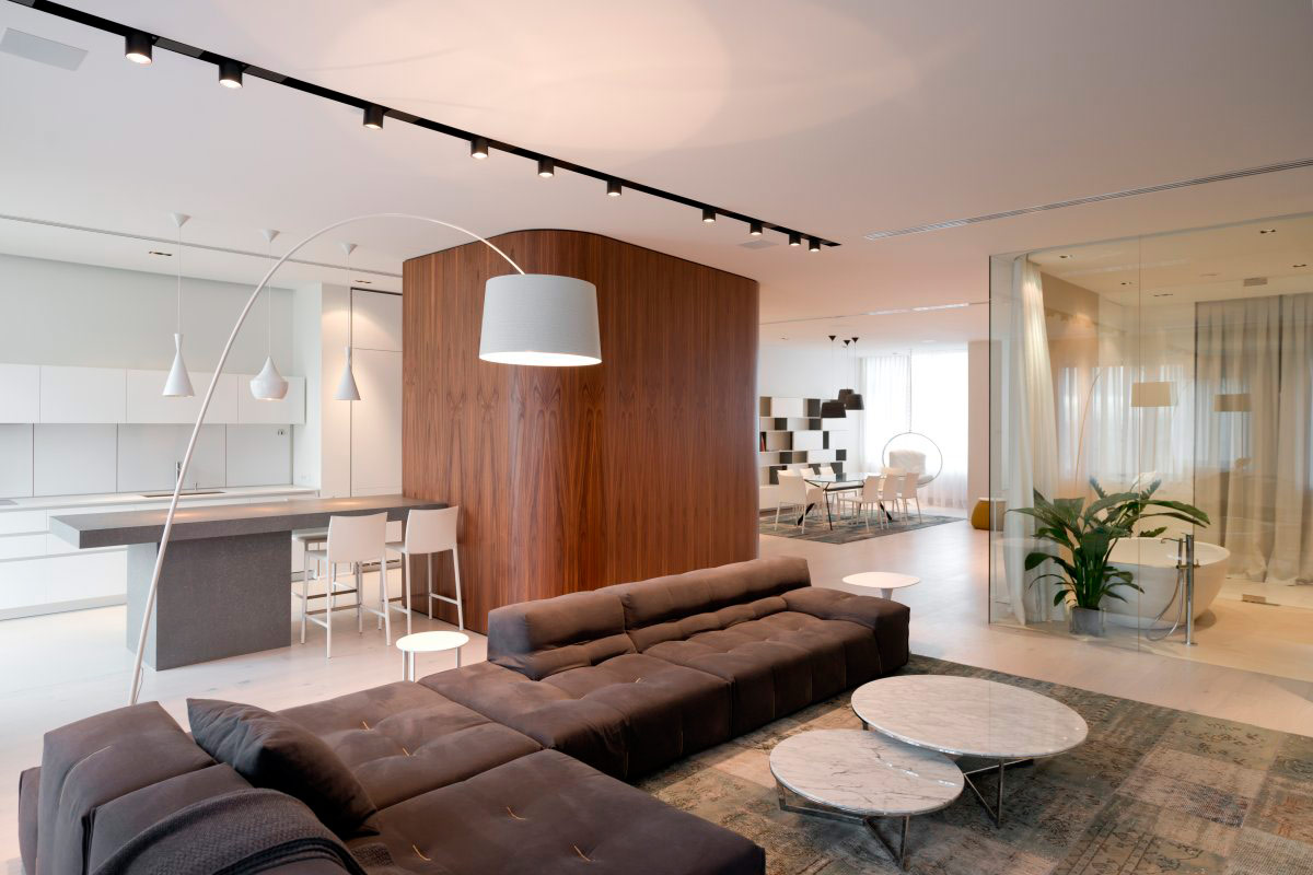 A lovely contemporary apartment in Russia