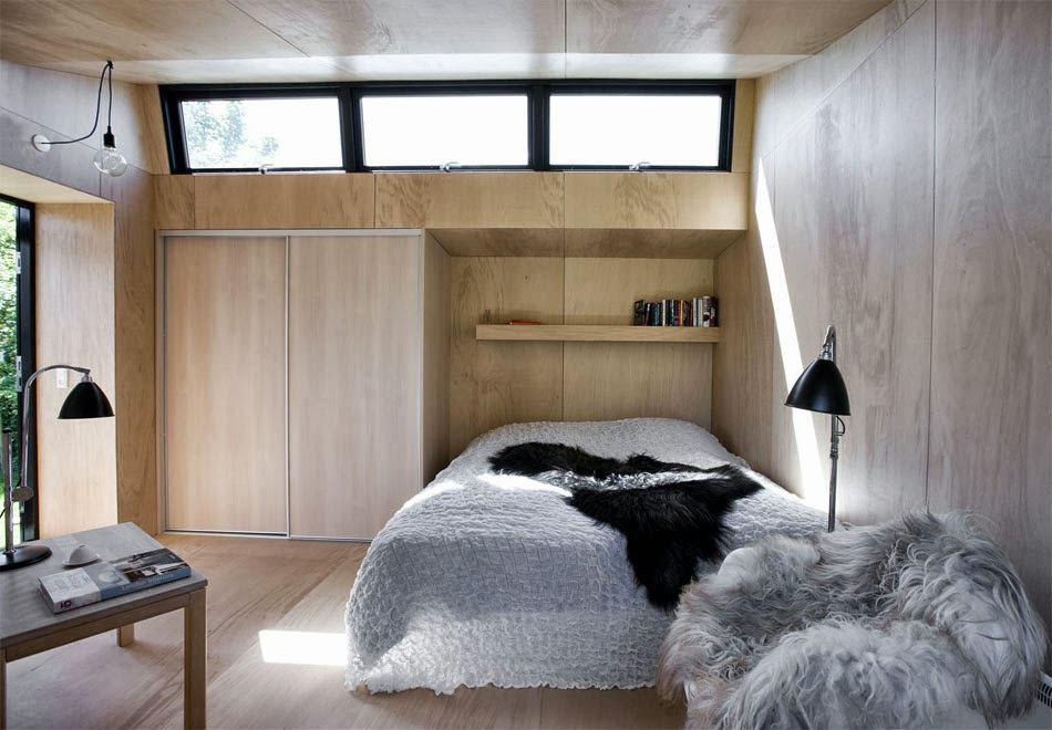 Beautiful and inviting: a tiny guest house