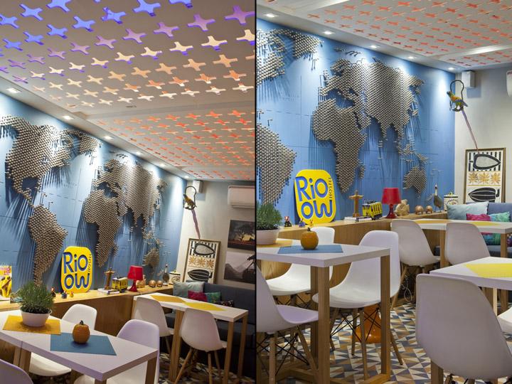 Fun and modern hostel found in Rio de Janiero