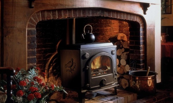Heating your home with a stove