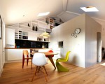 London loft studio with style