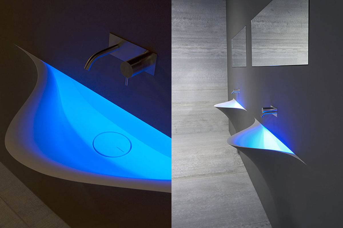 Silenzio: a sleek and modern basin