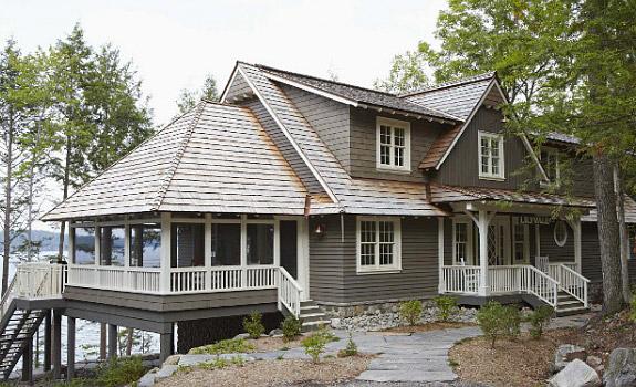Stylish and Impressive Lake Cottage