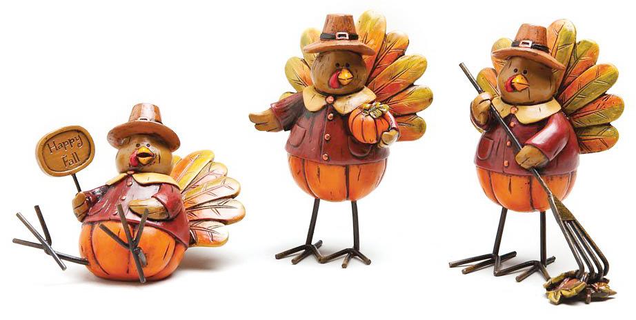Turkey Table Decor