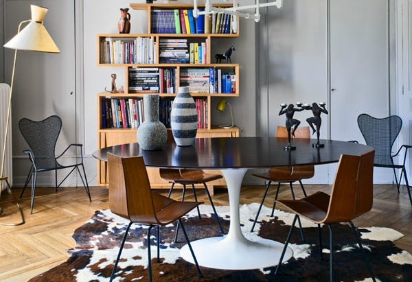 Unique and eclectic: one of our favorite interiors