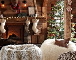 Winter home decor for the bedroom