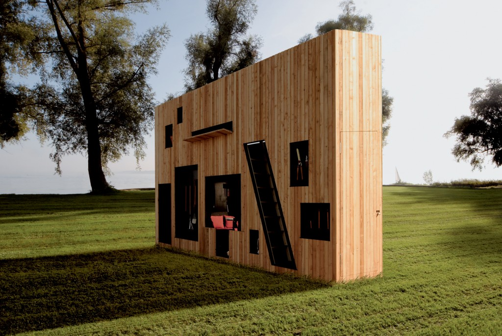 A truly modern garden shed adorable home for Modern garden buildings