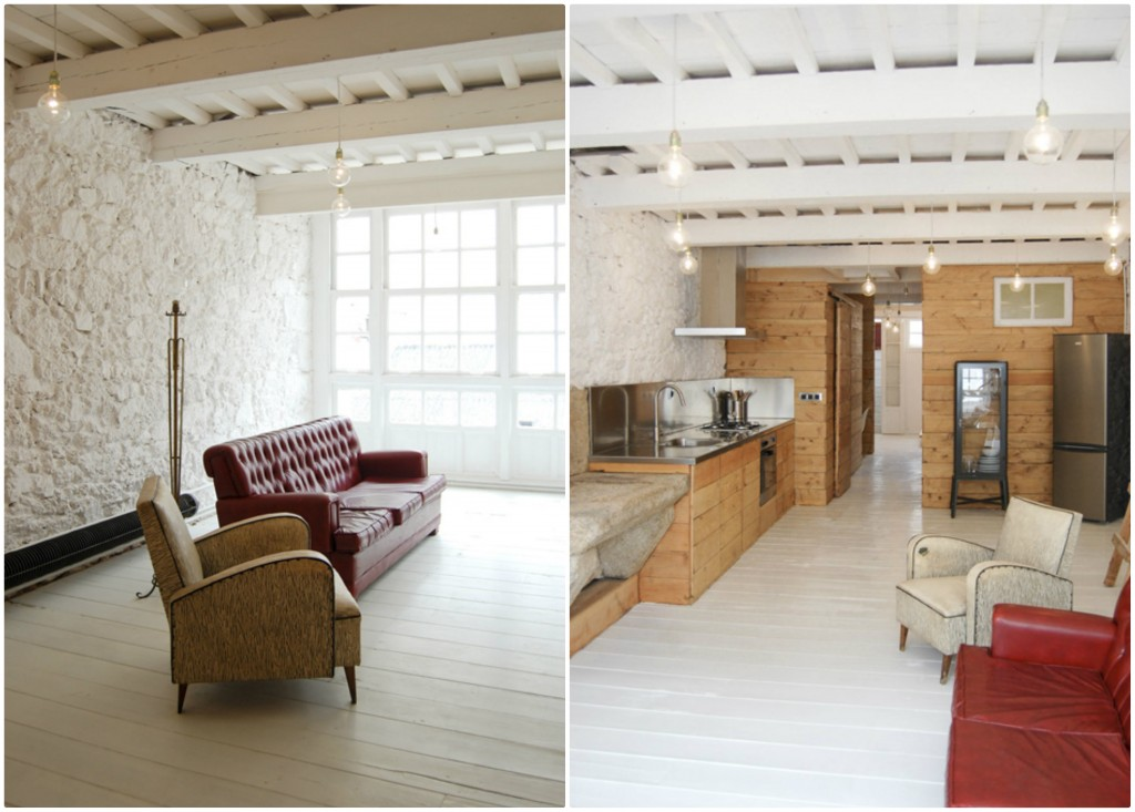 Amazing wood loft