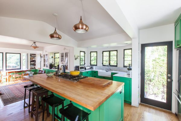 Beautiful And Funky Renovation By Bestor Architects