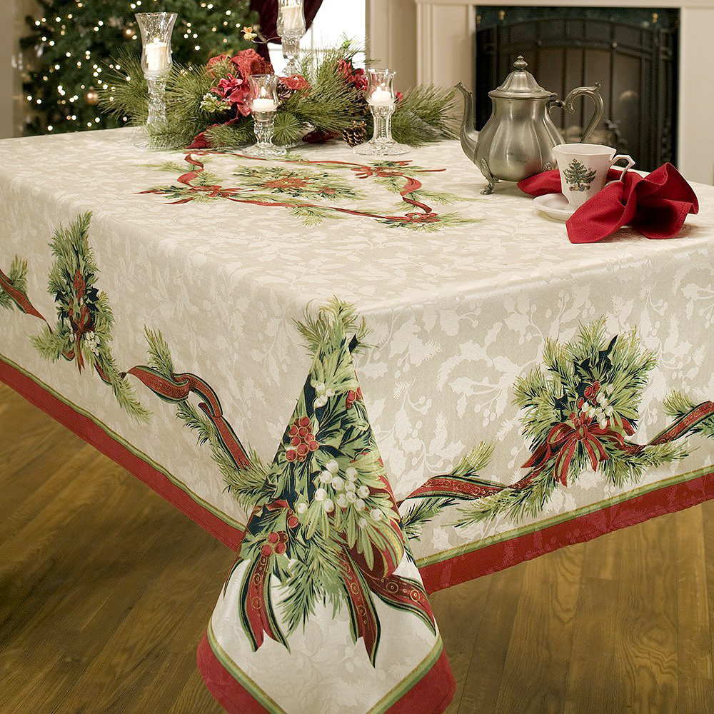 Christmas Tablecloth Adorable Home