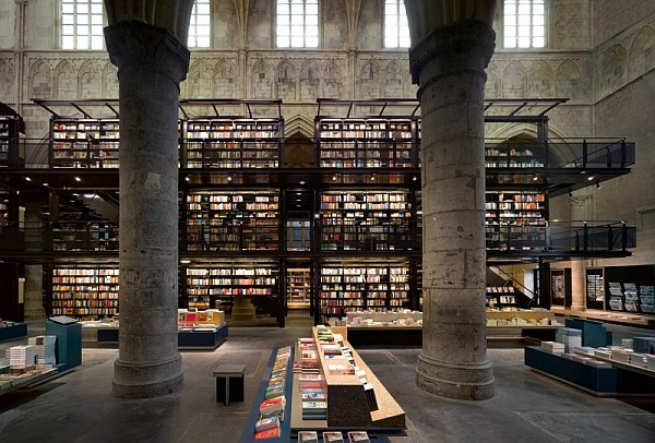 Fantastic church conversion that will bring out the book lover in you