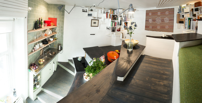 Stunning apartment where space optimization really works