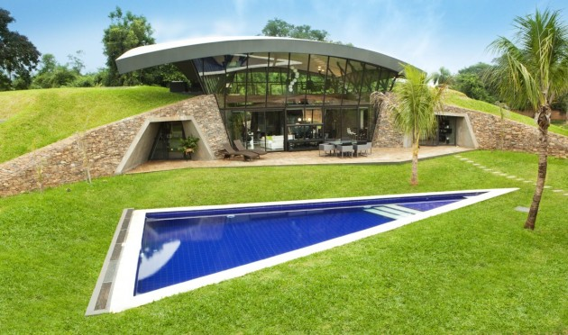 Stunning homes built to flow with topography surrounding them