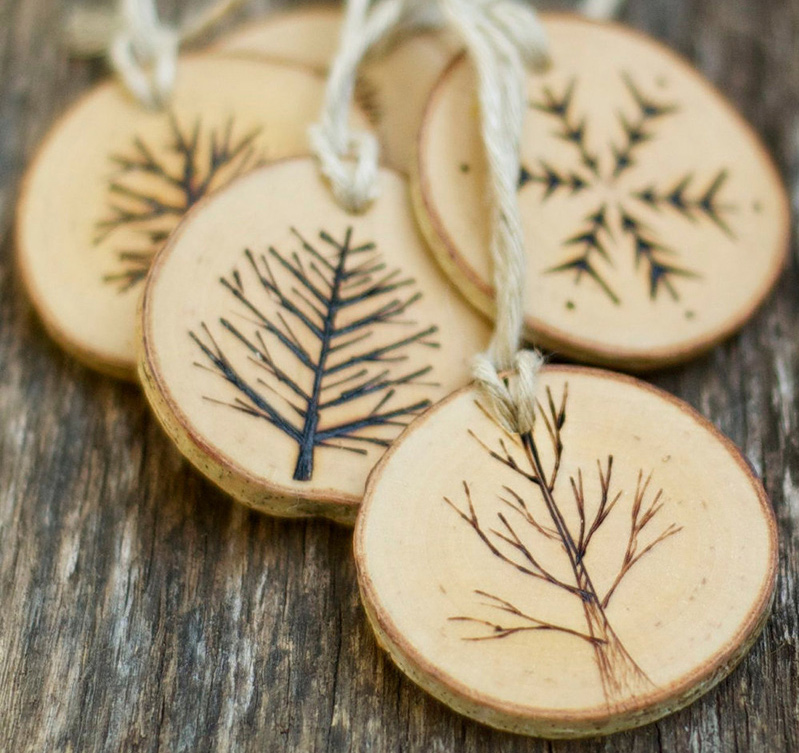 Made From Birch Tree These Hand Crafted Christmas