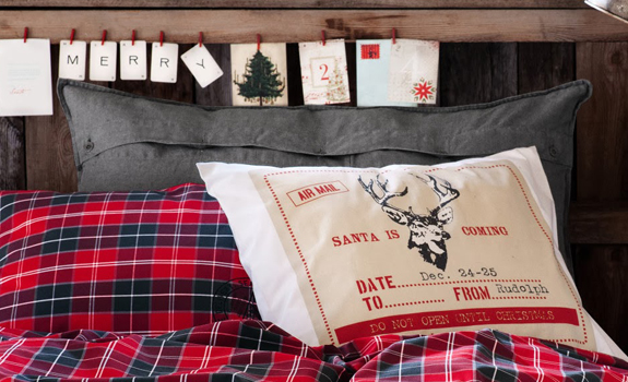 Christmas home decor by H&M