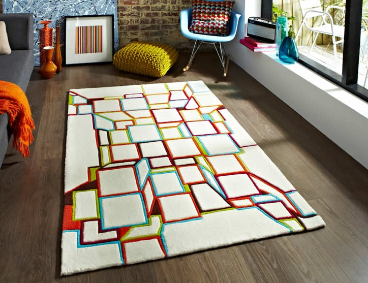 Adding a little extra to your interior with a fashionable rug