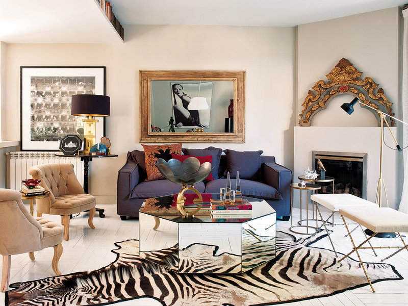 Bold apartment in Madrid