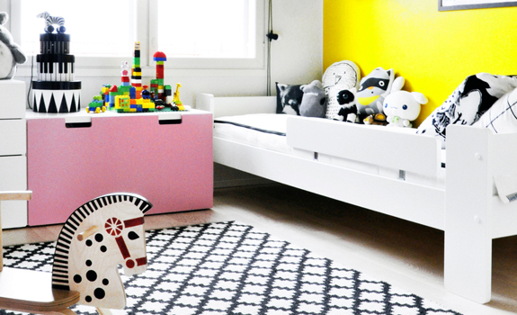 Colorful kid's room design