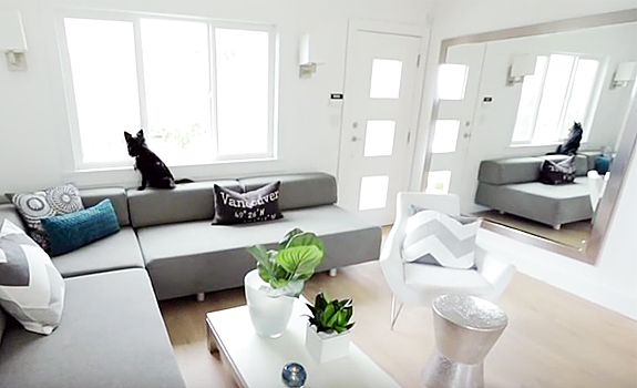 Contemporary Small Renovated Home