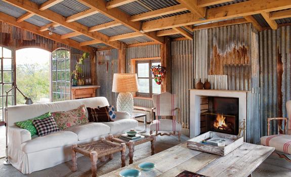 Farmhouse Transformed Into a Rustic Home