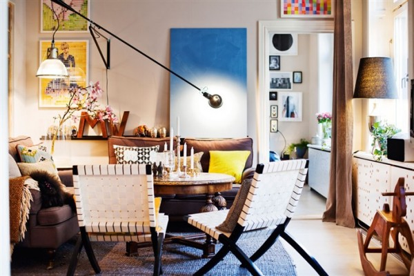 Fun and eclectic apartment in Stockholm