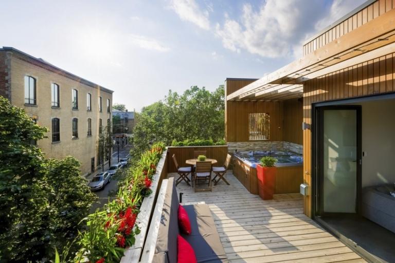 Gorgeous terrace duplex