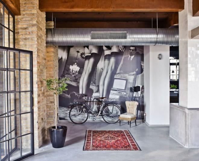 A super stunning contemporary loft