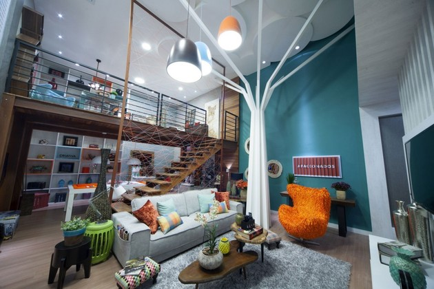 Casa Cor's magnetically appealing unique interior
